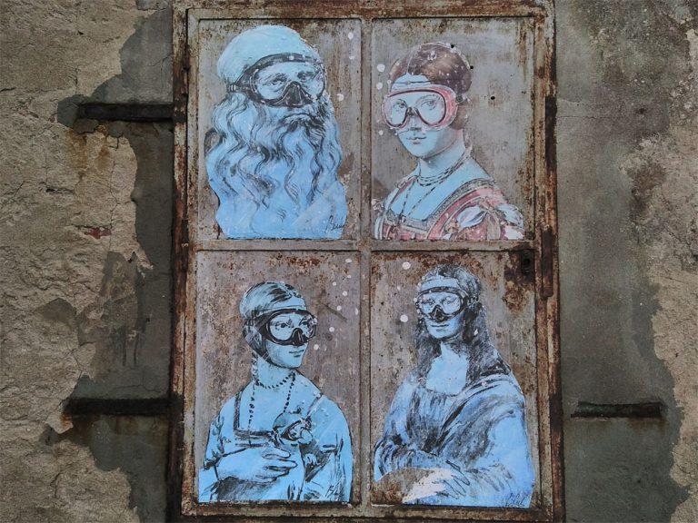 Portraits mit Maske
