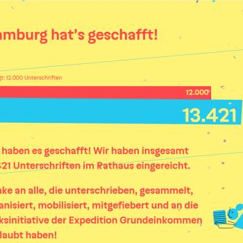 Hamburg hats geschafft