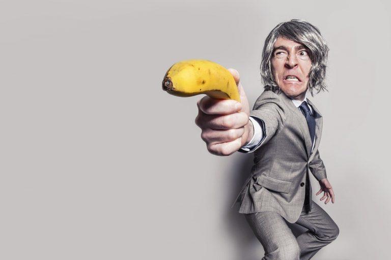 Angriff mit Banane